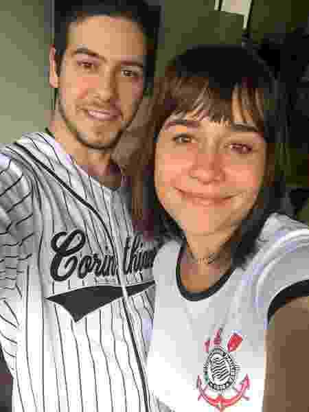 Antonio e a mãe, Alessandra Negrini - Reprodução/Instagram