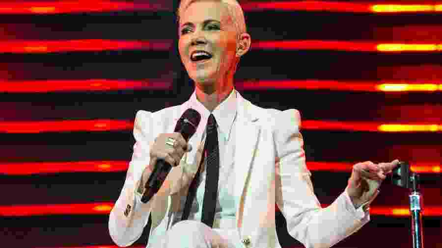 Marie Fredriksson, vocalista do Roxette - Brian Rasic/WireImage/Getty Images