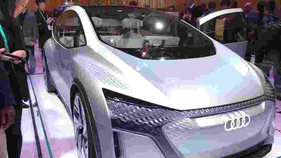 Protótipo exibido na CES 2020 abre caminho para uma versão de luxo do hatch 100% elétrico ID.3, da Volkswagen - Ricardo Ribeiro/Colaboração para o UOL