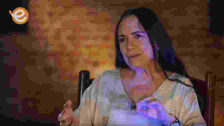 """Regina Duarte dá entrevista a Carlos Vereza no programa """"Plano Sequência"""" da TV Escola - Reprodução"""