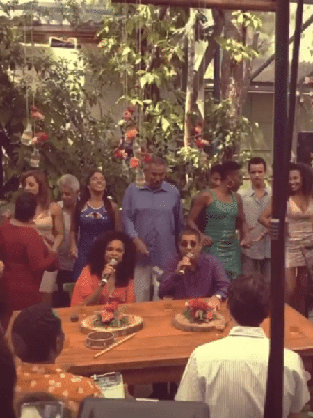 Zeca Pagodinho canta na novela Bom Sucesso - Reprodução/Instagram