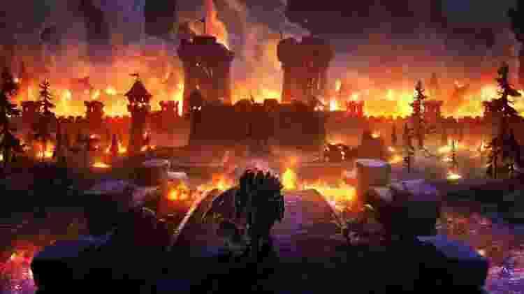 Warcraft Campanha - Divulgação - Divulgação