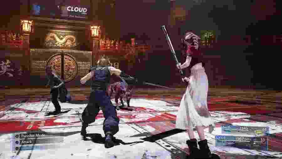 Final Fantasy VII Remake - Divulgação/Square Enix