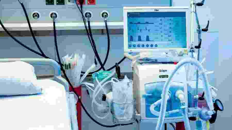 Ventilador pulmonar - Axel Heimken/dpa/Pool/dpa/AFP