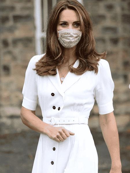 Kate Middleton aparece pela primeira vez de máscara - Reprodução/Instagram