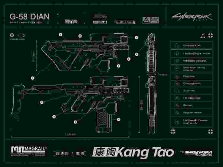 Kang Tao - Divulgação/CD Projekt RED - Divulgação/CD Projekt RED