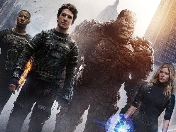 Os quatro protagonistas de 'Quarteto Fantástico' (2015)
