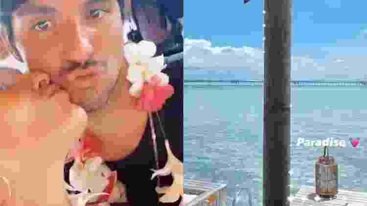 Yasmin Brunet e Gabriel Medina curtem destino paradisíaco - Reprodução / Instagram - Reprodução / Instagram