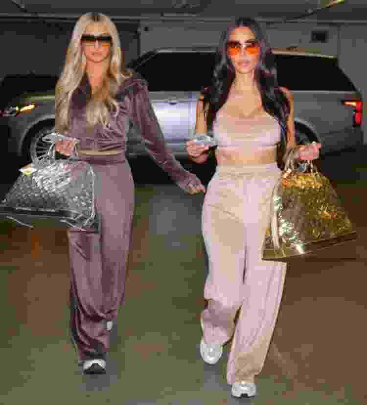 Paris Hilton e Kim Kardashian - Reprodução - Reprodução