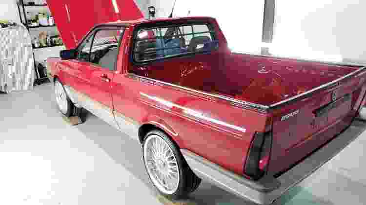 Volkswagen Saveiro GTI By Deni lateral traseira - Arquivo pessoal - Arquivo pessoal