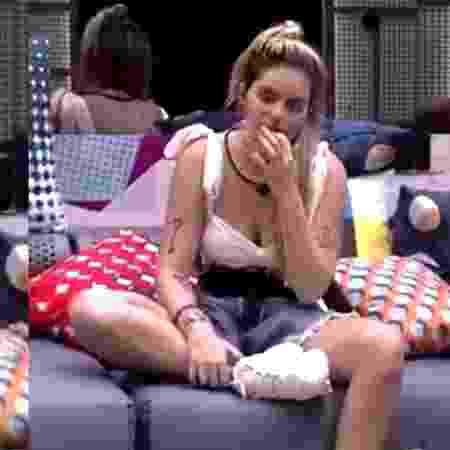 BBB 21 :Viih Tube comendo meleca - Reprodução/Globoplay - Reprodução/Globoplay