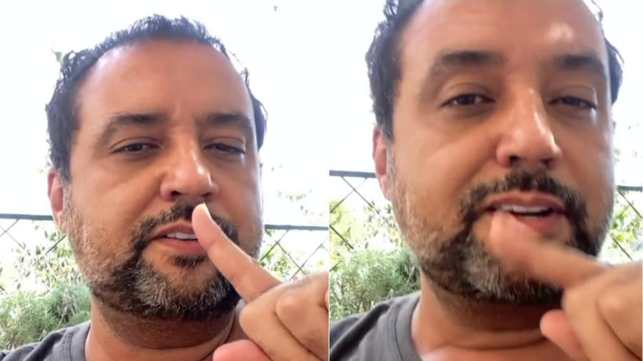 Geraldo Luis tem enfrentado as sequelas da covid-19 em sua casa - Reprodução/Instagram