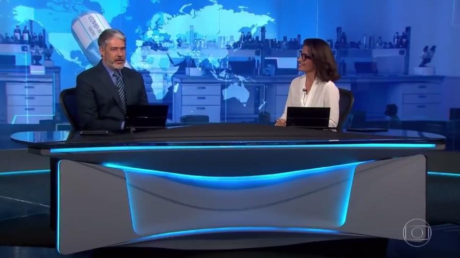 """William Bonner prometeu um anúncio hoje no """"Jornal Nacional"""" - Reprodução/TV Globo"""