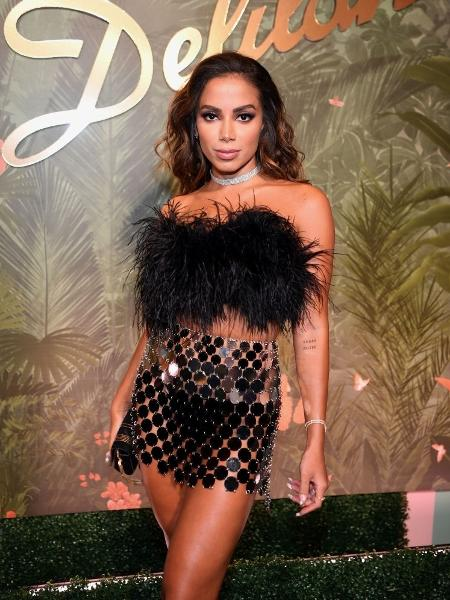 Anitta na inauguração do Delilah Group, do h.wood Group, no Wynn Las Vegas  - Denise Truscello/Getty Images for Wynn Las Vegas