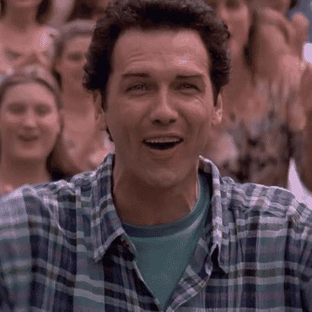 """Norm McDonald em cena de """"Billy Madison"""" - Reprodução - Reprodução"""