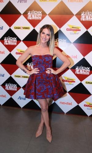 17.nov.2015 - Giovanna Ewbank na 17ª edição do Prêmio Extra de Televisão, no Rio de Janeiro