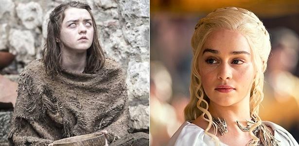 """As personagens Arya Stark e Daenerys Targaryen de """"Game of Thrones"""" inspiram nomes de bebês brasileiros - Divulgação/HBO"""