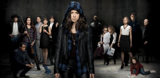 """Tatiana Maslany interpreta diversos clones na série """"Orphan Black"""" - Divulgação"""