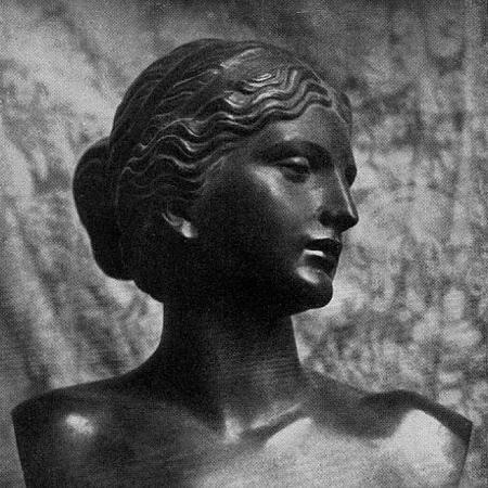 """Wilhelm Wandschneider e sua """"Afrodite"""" - Divulgação"""