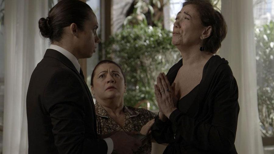 """Em """"A Força do Querer"""", Nonato promete ajudar Silvana a esconder vício em jogo - Reprodução/Gshow"""