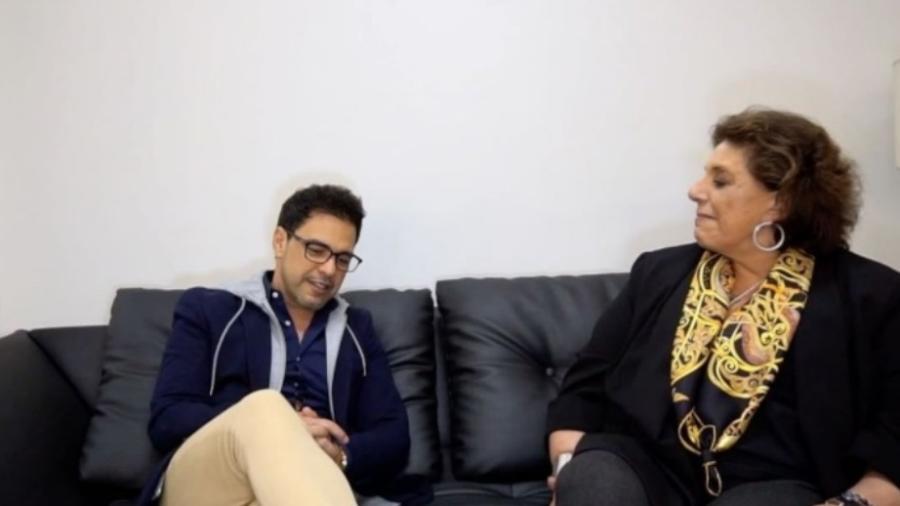 Zezé Di Camargo concede entrevista a Leda Nagle e provoca polêmica ao falar sobre política - Reprodução/YouTube