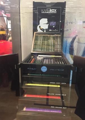 Caixa de lápis de cor da Faber Castell com 350 itens custa R$ 12,9 mil