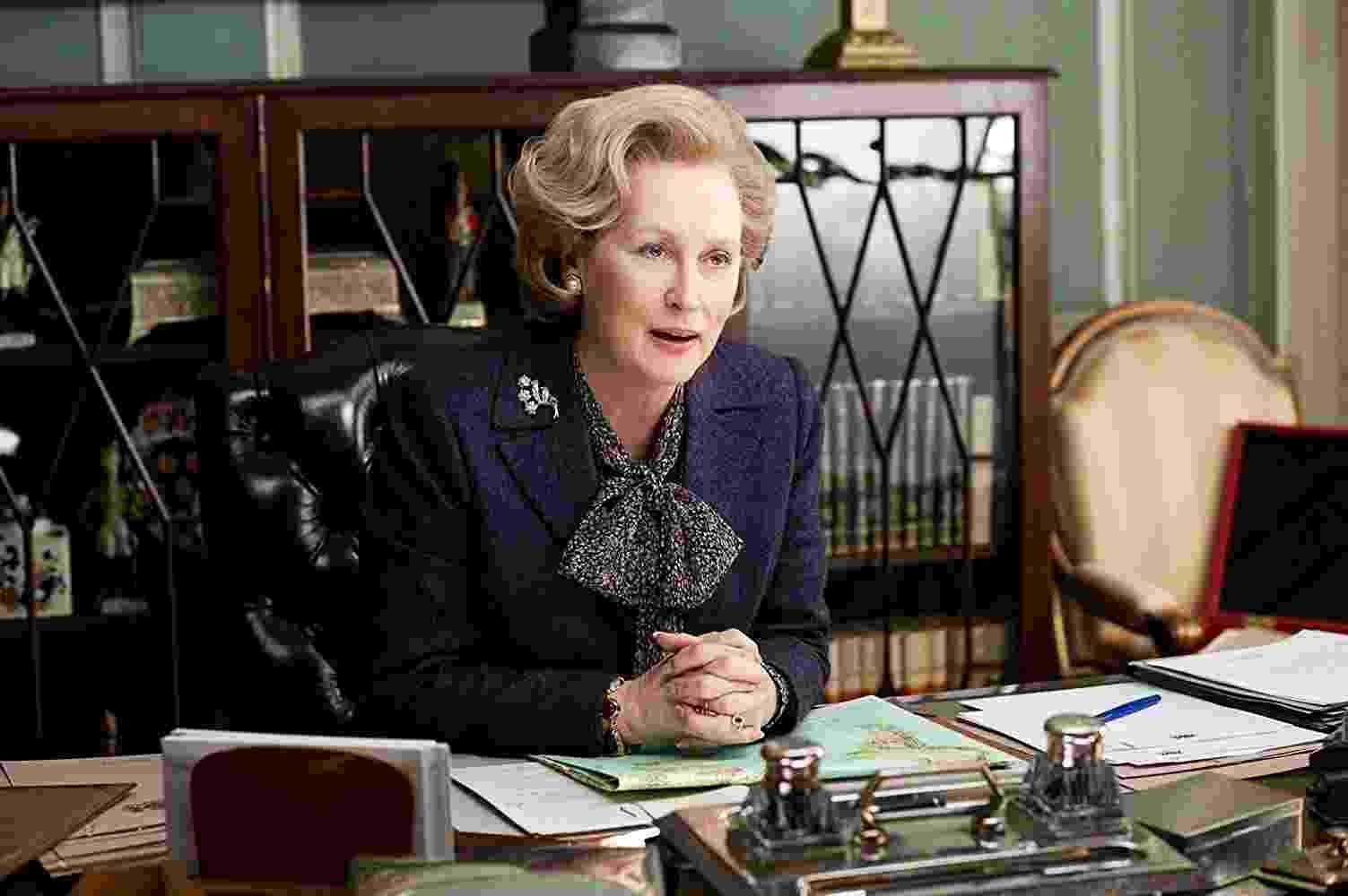 """Meryl Streep em cena de """"A Dama de Ferro"""" (2011) - Divulgação"""