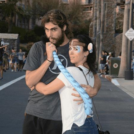 Rafael Vitti e Tatá Werneck na Disney - Reprodução/Instagram/rafavitti