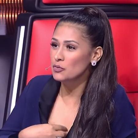 """Simone dá conselho para candidata no """"The Voice Kids"""" - Reprodução"""