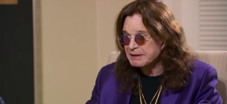 Perto de completar os 70 anos, vovô Ozzy Osbourne pensa em última turnê mundial, mas nega aposentadoria - Reprodução/TV Globo