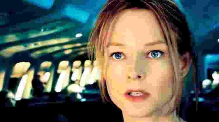 """Cena do filme """"Plano de Voo"""", com Jodie Foster - Reprodução - Reprodução"""