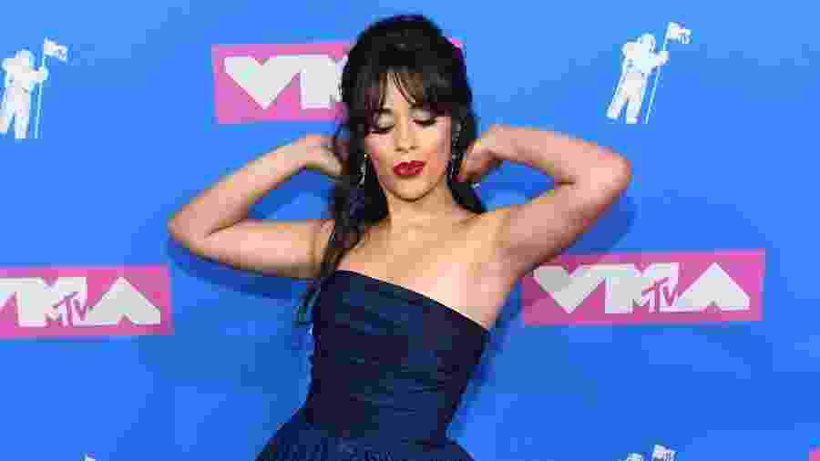 Camila Cabello, ex-Fifth Harmony, concorre em cinco categorias do VMA 2018 com sua carreira solo - Nicholas Hunt/Getty Images for MTV