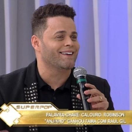 Robinson Monteiro no Superpop - Reprodução