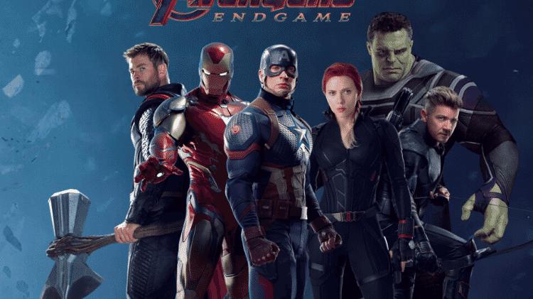 """Arte oficial de """"Vingadores: Ultimato"""" - Reprodução - Reprodução"""