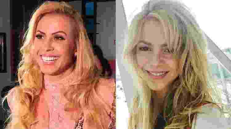Joelma e Shakira - Reprodução/Instagram - Reprodução/Instagram