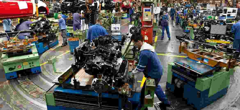 Fábrica da Ford em São Bernardo mantém produção de caminhões por mais 2 dias; Fiesta deixou de ser produzido em julho - Rodrigo Paiva/Folhapress