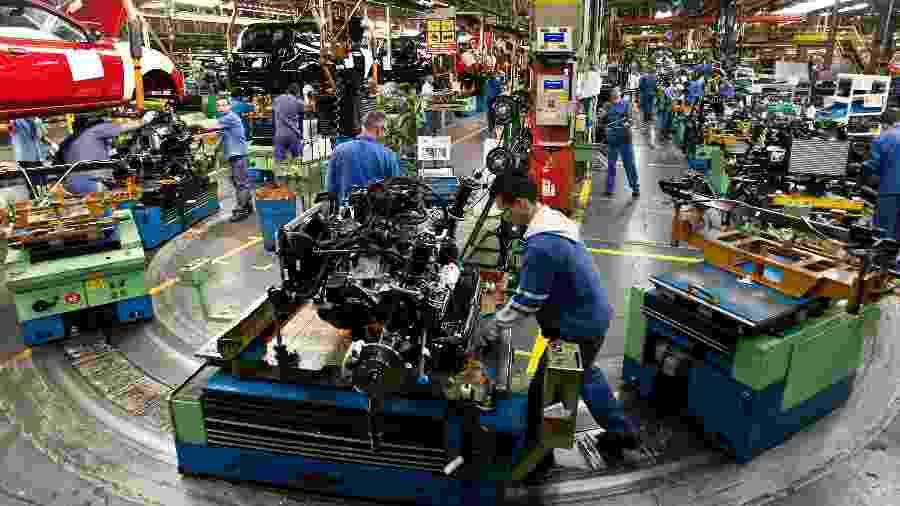 Fábrica da Ford em São Bernardo encerrou as atividades no fim de outubro, no ano do centenário da empresa no Brasil - Rodrigo Paiva/Folhapress