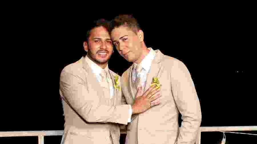 Lucas Guimarães e Carlinhos Maia se casaram em Canindé do São Francisco, em Sergipe - Manuela Scarpa/Brazil News