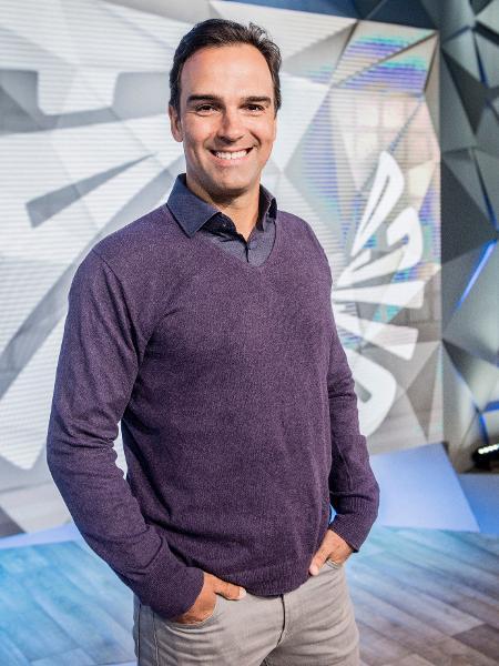 Tadeu Schmidt é um dos titulares do Fantástico na Globo - João Cotta/TV Globo