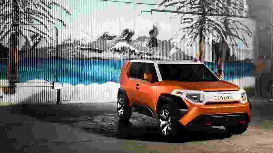 Conceito do modelo FT-4X deve ser utilizado em novo SUV da Toyota - Toyota/Divulgação