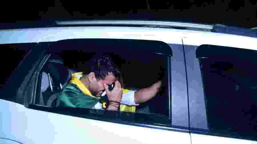 """Bimbi é avisado da morte do irmão dentro do carro após """"Power Couple"""" - Léo Franco/AgNews"""