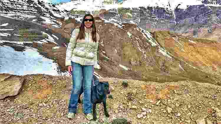 Mellina e Hilary em passeio pelo Chile - Arquivo pessoal