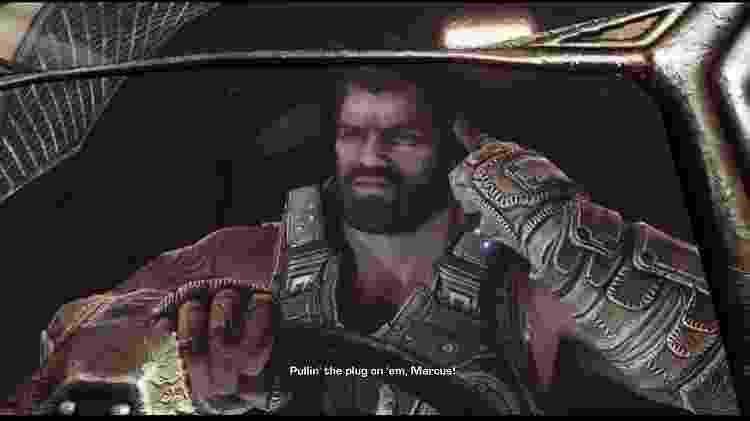 """""""Gears of War 3"""" trouxe momentos emocionantes e fechou algum arcos da história - Reprodução"""