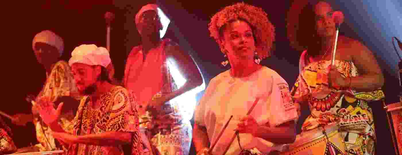 O Bloco Afro Ilê Aiyê no Carnaval de 2018 - Edson Lopes Jr./UOL