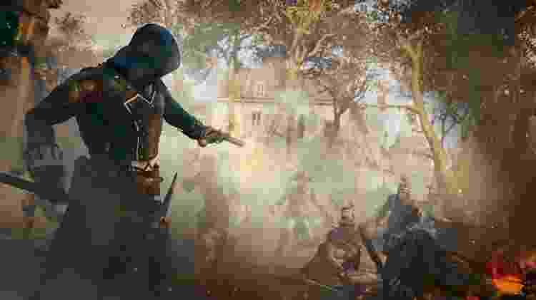"""Ambientado na Revolução Francesa, """"Assassin's Creed Unity"""" é jogo da série para consoles 'next gen' - Divulgação"""