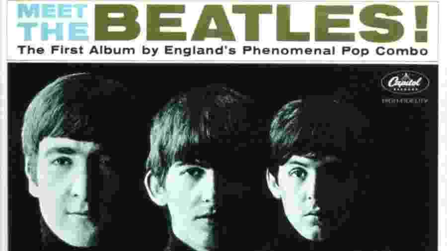 Capa de Meet the Beatles - Reprodução