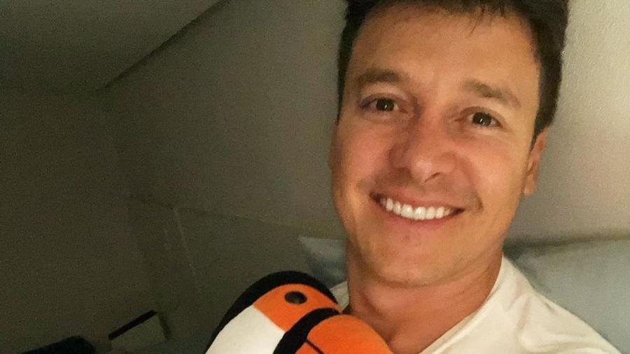 Rodrigo Faro está de cama, se recuperando de um início de pneumonia - Reprodução/ Instagram