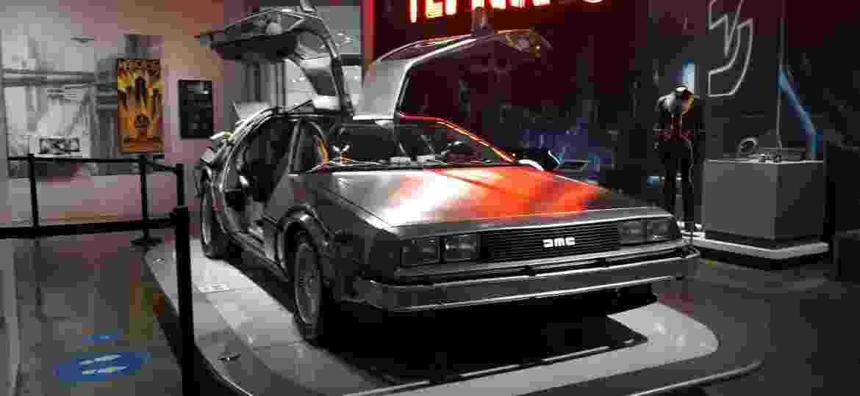 """DeLorean original da trilogia """"De Volta para o Futuro"""" é destaque do acervo - Vitor Matsubara/UOL"""