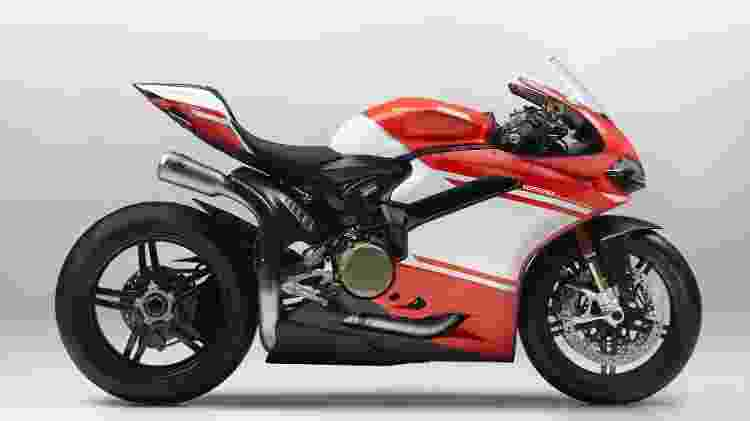 Ducati 1299 Superleggera 2017 has only one example registered in the State and the price is R $ 374,796 - Disclosure