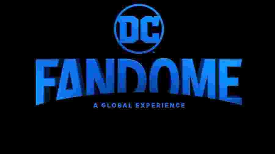 O logo do DC FanDome, evento virtual da editora - Reprodução/DC